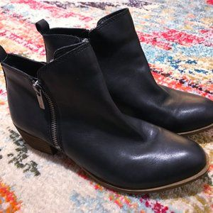 Lucky Brand Women's Basel Leather Booties - 7.5M